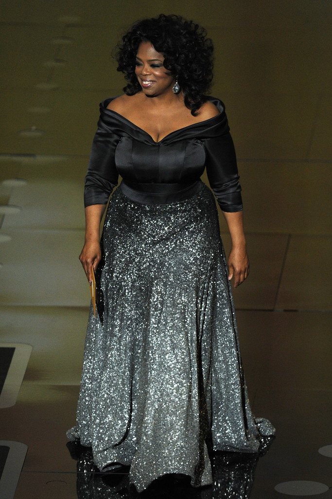 Oprah Winfrey Off The Shoulder Dress Oprah Winfrey Looks
