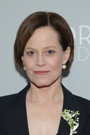 Sigourney Weaver opted for a simple bob when she attended the New York screening of 'Dior and I.'