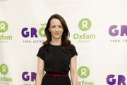Kristin Davis poses for a photo during the Oxfam Sisters on the Planet Summit keynote at The Double Tree by Hilton on March 7, 2012 in Washington, DC.