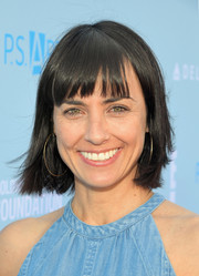 Constance Zimmer kept it casual with this short straight cut at the P.S. Arts Express Yourself event.