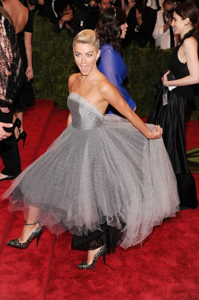 More Pics of Julianne Hough Strapless Dress (1 of 17) - Julianne Hough Lookbook - StyleBistro
