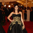 Ashley Greene in a Black Ball Gown
