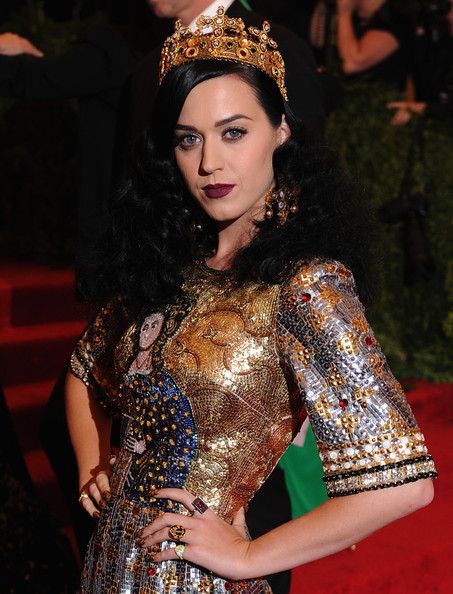 More Pics of Katy Perry Long Curls (3 of 27) - Katy Perry Lookbook - StyleBistro
