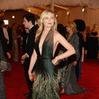 Kirsten Dunst in Green Feathers