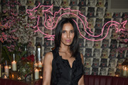 Padma Lakshmi Little Black Dress