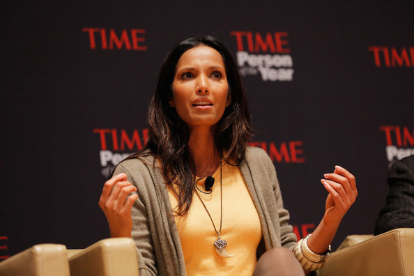 Padma Lakshmi Animal Claw Necklace [person of the year panel,event,talent show,hand,convention,performance,spokesperson,padma lakshmi,panel,new york city,time,person of the year]