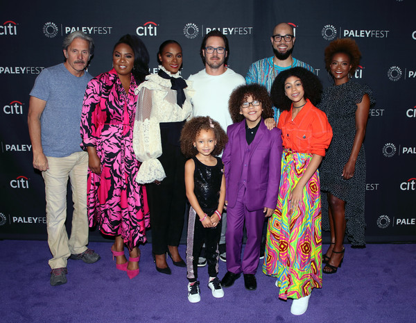 More Pics of Tika Sumpter Pussybow Blouse (1 of 8) - Tops Lookbook - StyleBistro [paleyfest fall tv previews,tv previews,people,event,premiere,fashion,carpet,performance,fashion design,flooring,fun,red carpet,arrivals,mykal,gary cole,l-r,front row,back row,paley center for media,abc]