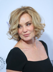 Jessica Lange looked gorgeous with her curly bob at PaleyFest LA.