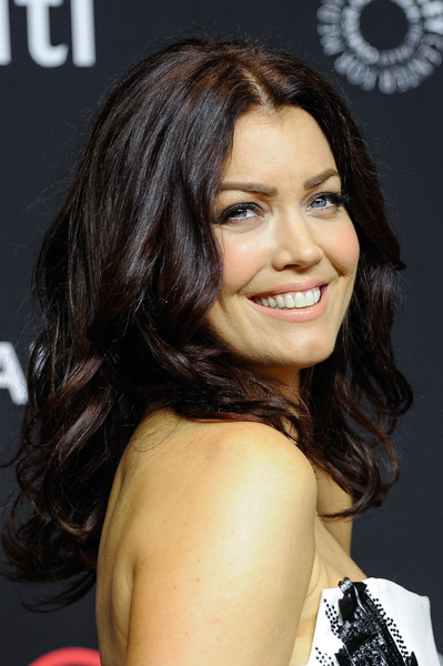 Bellamy Young attended PaleyFest Los Angeles sporting a classic curly 'do.