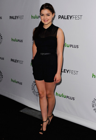 More Pics of Ariel Winter Long Braided Hairstyle (1 of 15) - Ariel Winter Lookbook - StyleBistro