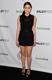 Ariel Winter wore this black romper with a charming collar to the PaleyFest event honoring 'Modern Family.'