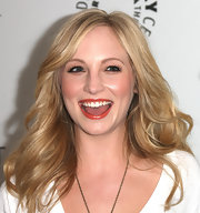 Candica Accola looked oh-so-pretty at the 2012 PaleyFest with her feathered waves.