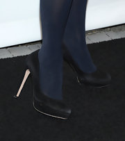 Zooey Deschanel opted for classic black pumps for her look at PaleyFest 2013.