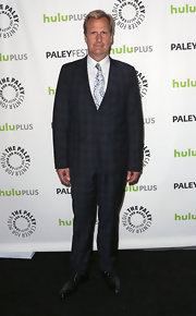 Jeff Daniels' plaid suit showed his quirky style and personality at PaleyFest honoring 'The Newsroom.'