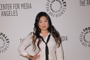 Actress Jenna Ushkowitz arrives at the Paley Center for Media's Paleyfest 2011 Event honoring