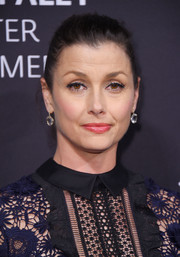 Bridget Moynahan opted for a casual bun when she attended the Paley Honors: Celebrating Women in Television event.