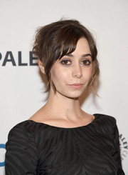Cristin Milioti pulled off this messy hairstyle during PaleyFest New York 2015.