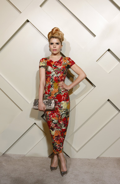 Paloma Faith Gemstone Inlaid Clutch