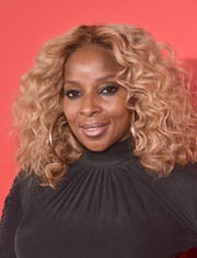 Mary J. Blige rocked voluminous curls at the premiere of 'What Men Want.'