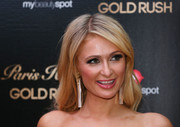 Paris Hilton looked like a doll with her long wavy hair while attending a Q&A with fans in Melbourne.