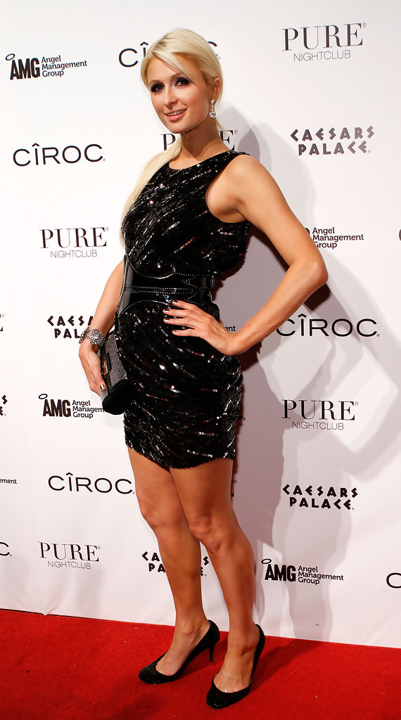Paris Hilton Evening Pumps Paris Hilton Looks Stylebistro