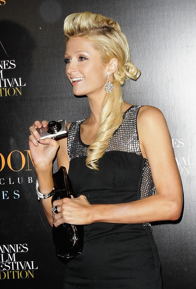 Paris Hilton Loose Ponytail