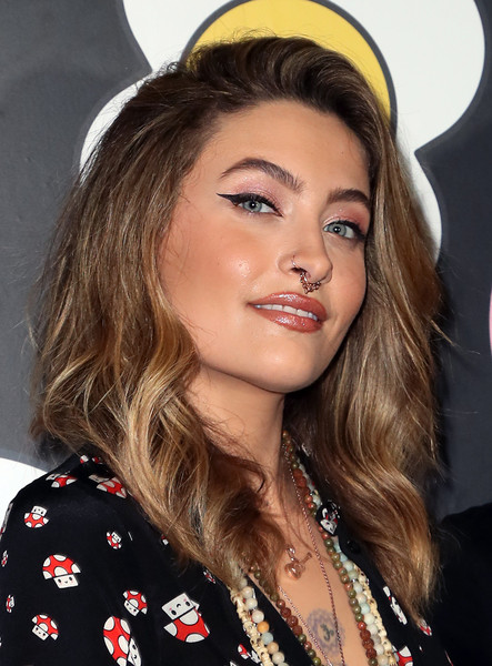 Paris Jackson Long Wavy Cut [hair,face,eyebrow,hairstyle,lip,beauty,blond,chin,brown hair,long hair,stacey bendet,paris jackson,hollywood,california,hollywood athletic club,alice olivia,friendswithyou collection la launch party,launch party,paris jackson,blond,color,beauty,fashion,photograph,hawtcelebs,human hair color]