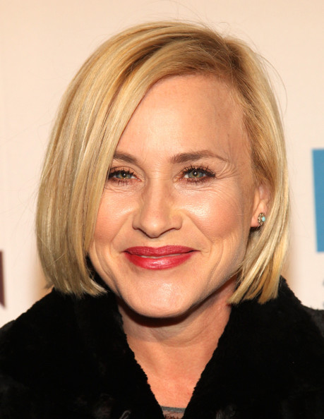 Patricia Arquette Bob [hair,face,blond,hairstyle,eyebrow,lip,chin,forehead,head,cheek,patricia arquette,louis vuitton,moca - red carpet,moca,los angeles,california,the geffen contemporary,35th anniversary gala]