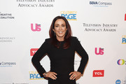 Patricia Heaton Fringed Dress