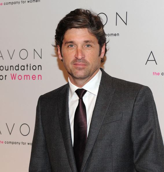 Patrick Dempsey Classic Solid Tie [avon foundation for women gala,suit,white-collar worker,chin,formal wear,tuxedo,tie,businessperson,premiere,official,new york city,cipriani 42nd street,patrick dempsey]
