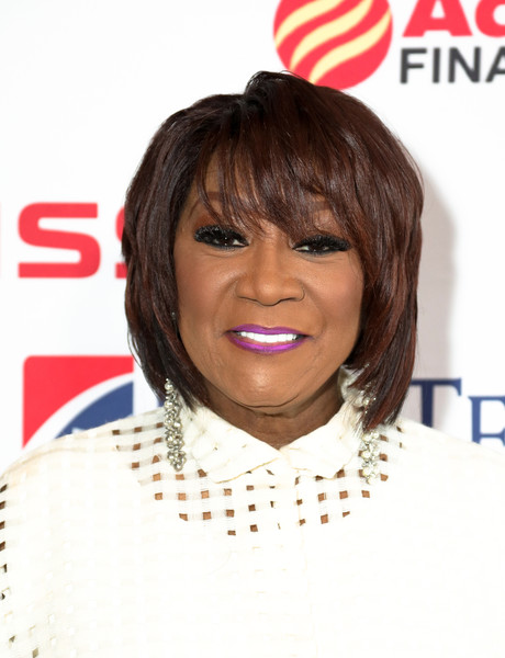 Patti LaBelle Layered Razor Cut [hair,hairstyle,face,bob cut,chin,bangs,forehead,black hair,layered hair,brown hair,my music matters: a celebration of legends lunch,annual my music matters: a celebration of legends lunch,city winery nashville,tennessee,patti labelle]