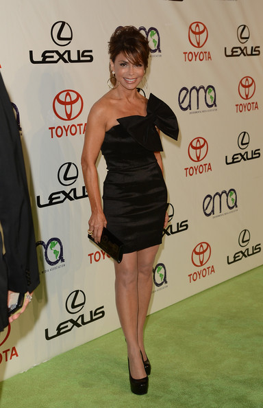 Paula Abdul Little Black Dress