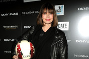 Paulina Porizkova Leather Jacket