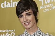 Paz Vega Side Parted Straight Cut