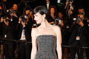 Paz Vega Strapless Dress
