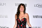 Paz de la Huerta Strapless Dress