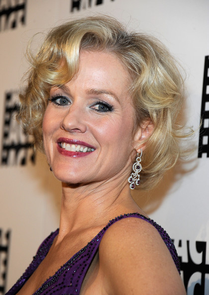 Penelope Ann Miller Gemstone Chandelier Earrings