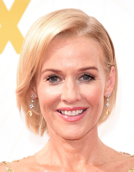 Penelope Ann Miller Bob [face,hair,skin,eyebrow,hairstyle,blond,chin,lip,facial expression,forehead,arrivals,penelope ann miller,microsoft theater,los angeles,california,primetime emmy awards]
