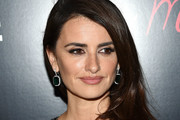Penelope Cruz Dangling Gemstone Earrings