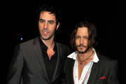 Sacha Baron Cohen and Johnny Depp Photo