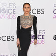 Jennifer Lopez in Reem Acra at the People's Choice Awards