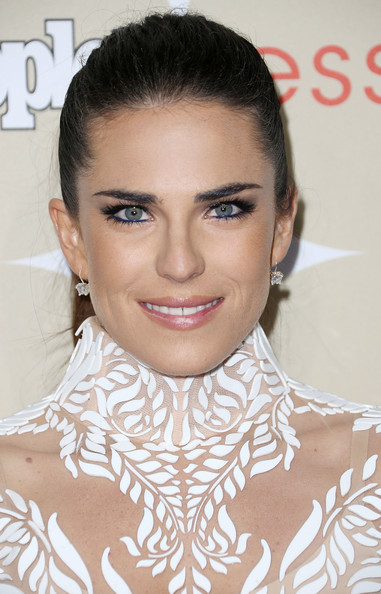 Karla Souza looked gorgeous even with this simple ponytail during People's Ones to Watch party.
