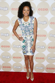 Rochelle Aytes donned a casual yet sweet floral dress for the Ones to Watch party.