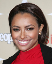 Kat Graham sported a breezy bob when she attended People's Ones to Watch party.