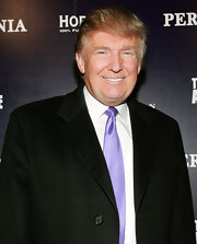 Donald Trumps signature combover hairstyle is one of the things he's best known for.