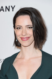 Rebecca Hall looked lovely with her bouncy bob at the Tribeca Film Festival premiere of 'Permission.'