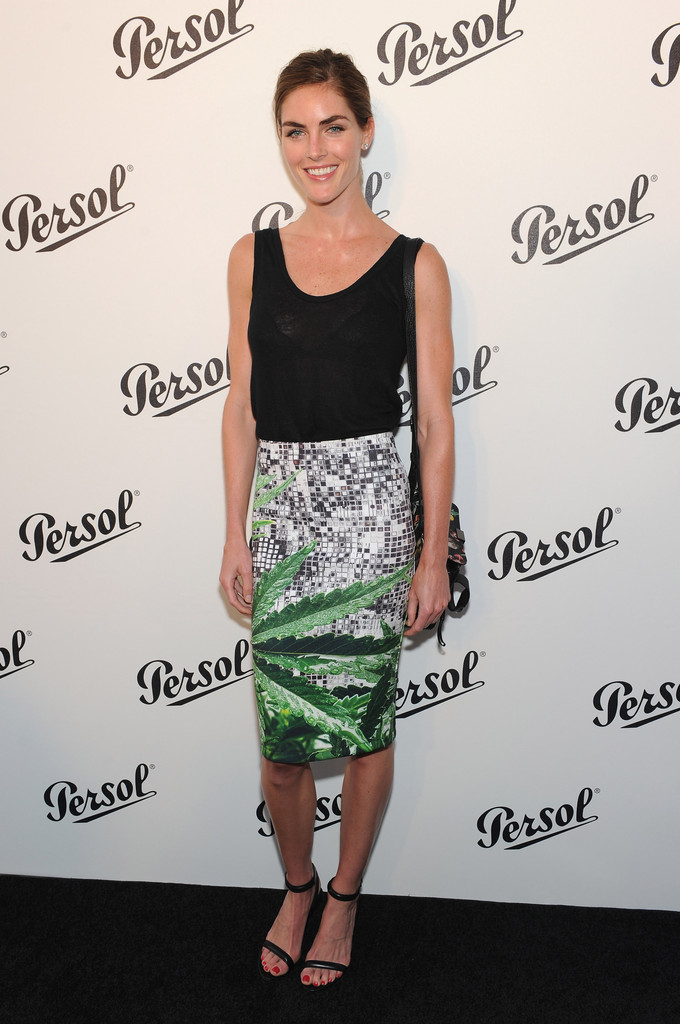 Model Hilary Rhoda attends the Persol Magnificent Obsessions event honoring Julie Weiss and Jeannine Oppewall at the MMI on July 10, 2013 in New York City.