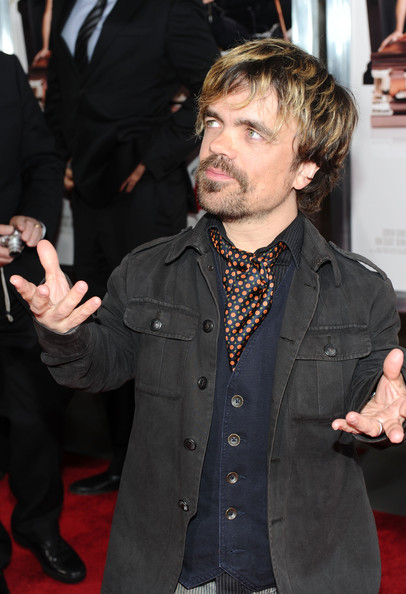 Peter Dinklage Ascot [death at a funeral,premiere,facial hair,event,carpet,red carpet,beard,suit,flooring,long hair,gesture,arrivals,peter dinklage,california,los angeles,arclight cinema,sony pictures releasing,premiere,premiere]