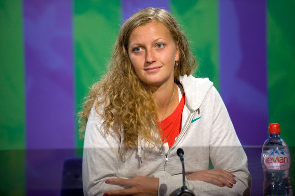 Petra Kvitova Long Curls
