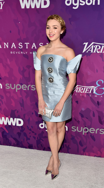 Peyton List Evening Pumps